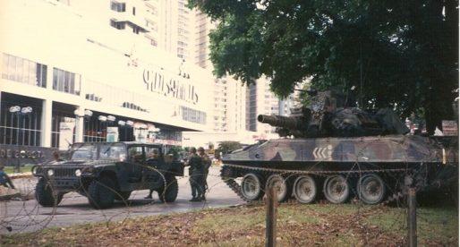 Fotos inéditas de la invasión de 1989