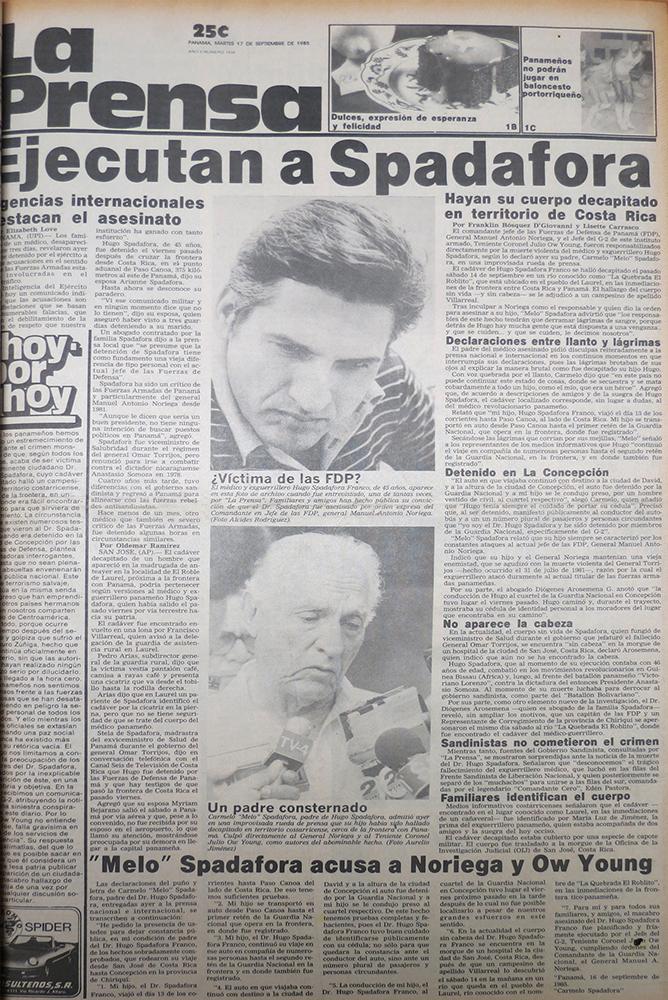 los medios anuncian la muerta de spadafora (1)