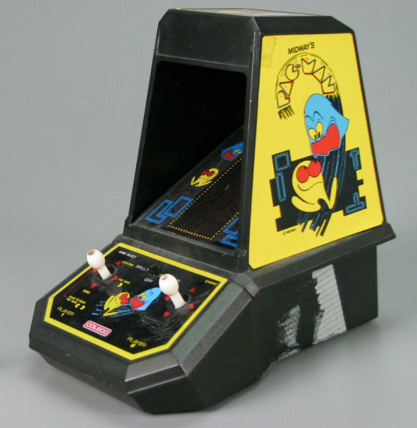 mini arcade pacman