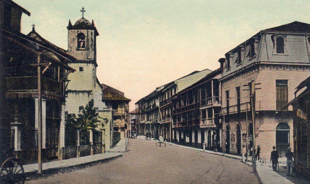 25 postales panameñas de la década de 1910
