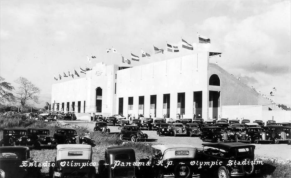 estadio olimpico juan demostenes arosemena 1938