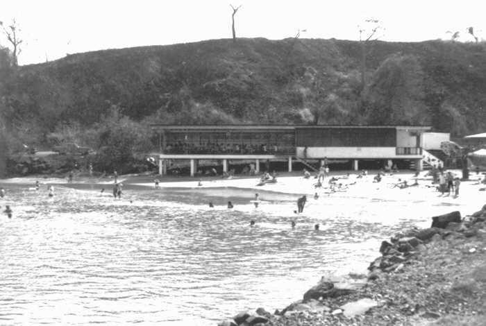 Causeway playita de Amador en 1967