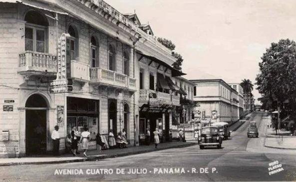 avenida 4 julio decada 1940