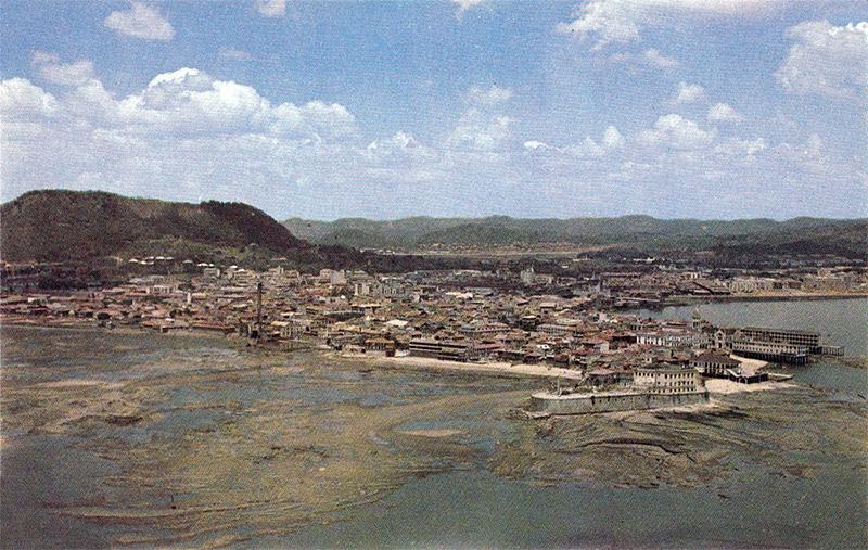ciudad de panama años 40