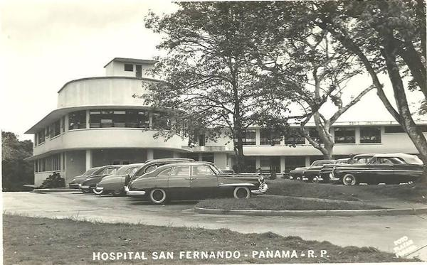 hospital San Fernando en la década de 1940