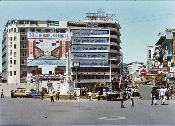 plaza 5 mayo año 1978