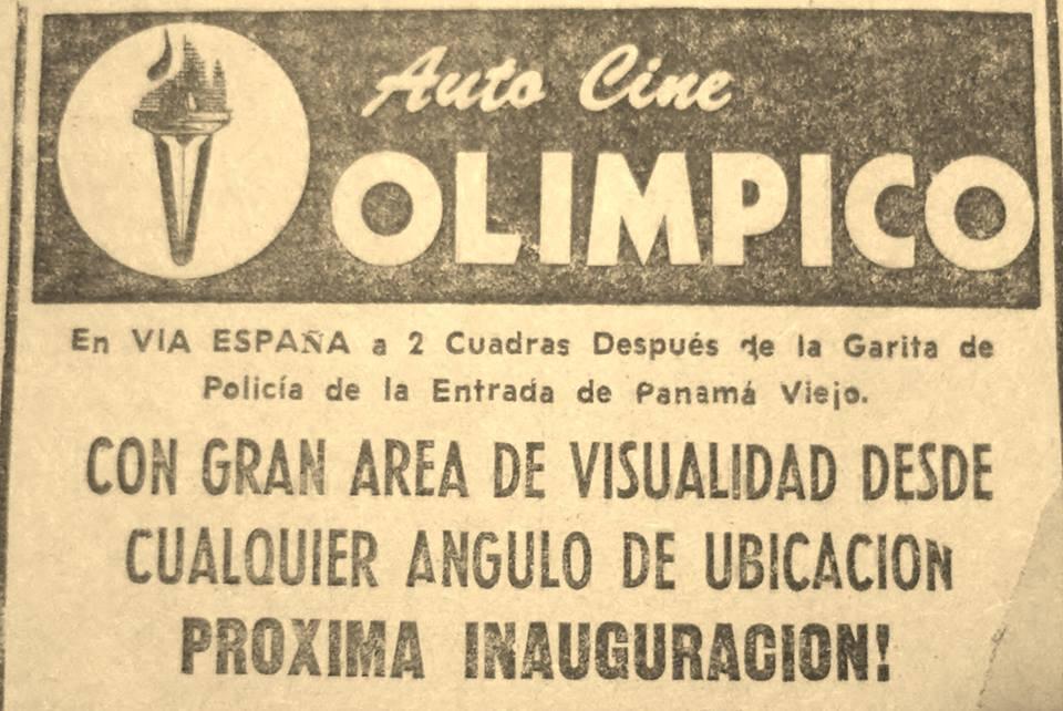 autocine olimpico