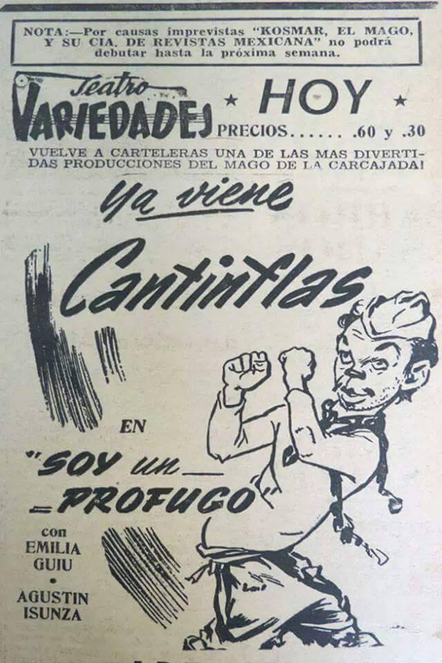 cantinflas teatro variedades