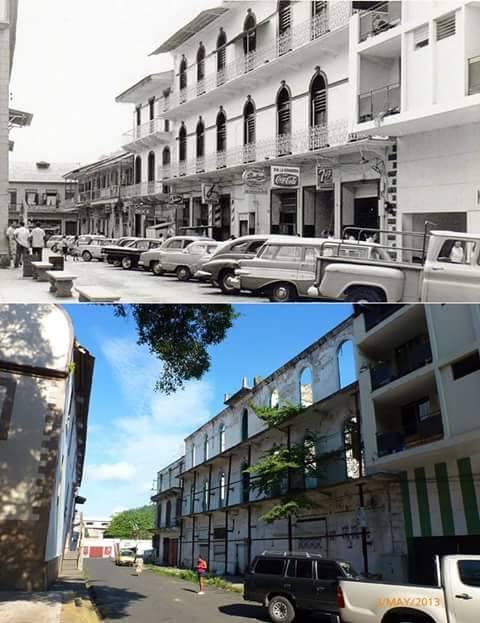 un antes y después calle casa zaldo de santa ana