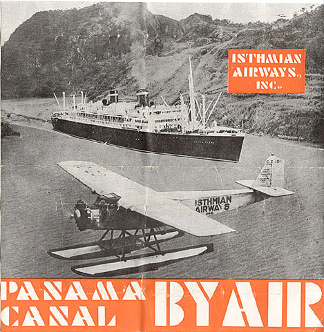 Isthmian Airways poster