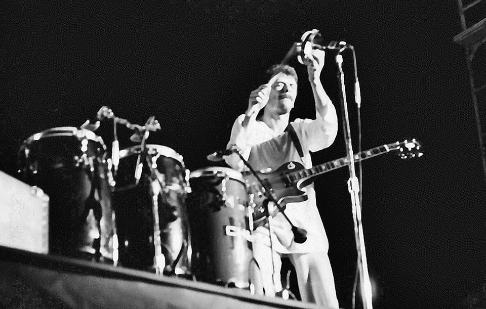 Concierto de Santana en 1973