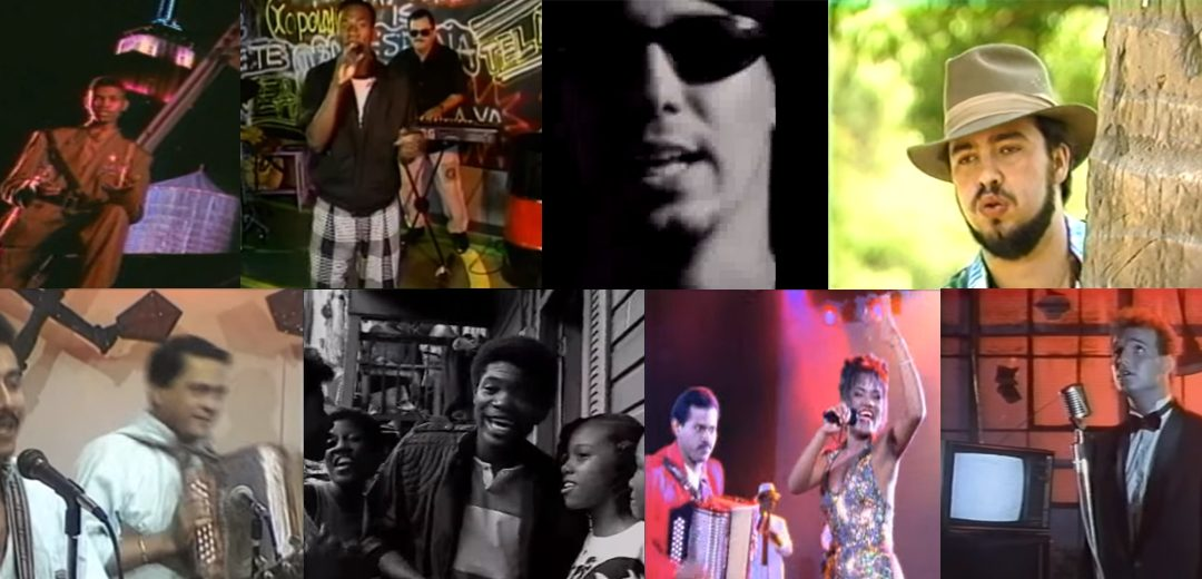 15 videos musicales retro panameños