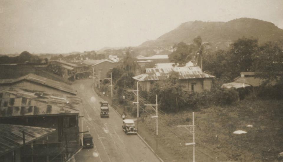 Ciudad de Panamá, 1935.