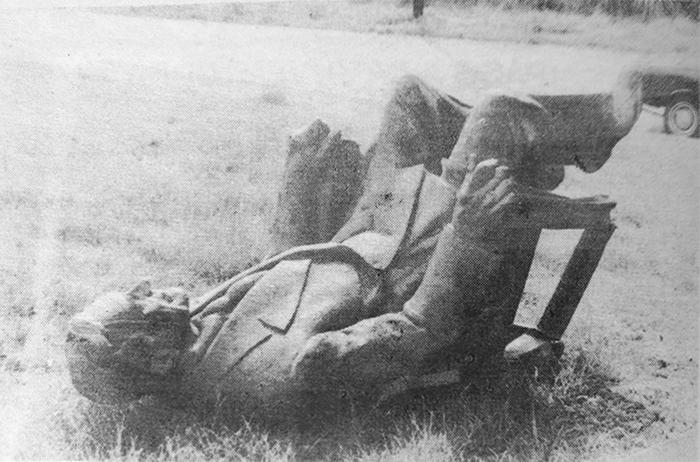 estatua roosevelt vandalizada (1)