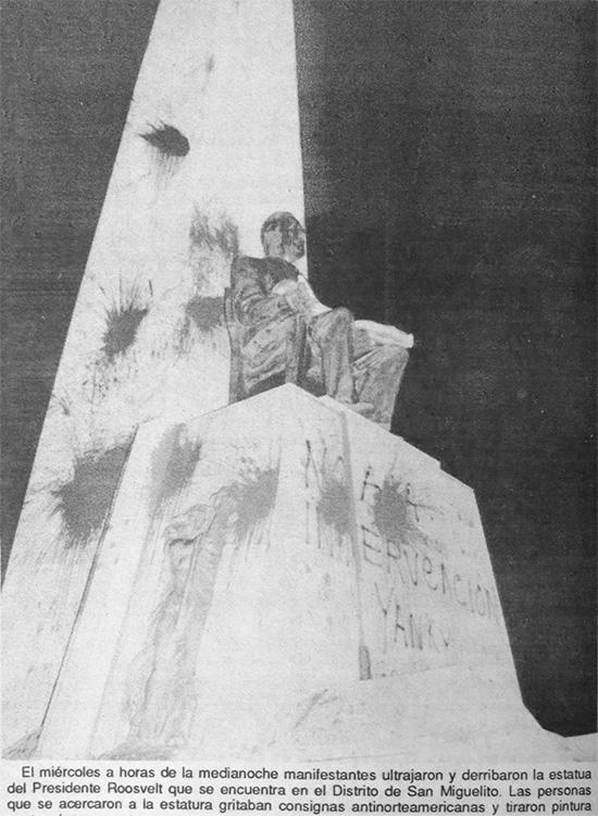 estatua roosevelt vandalizada (2)