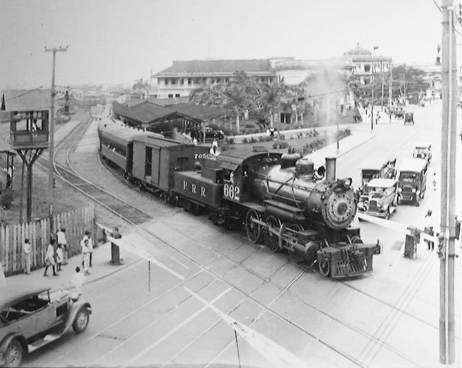 ferrocarril panama año 1930