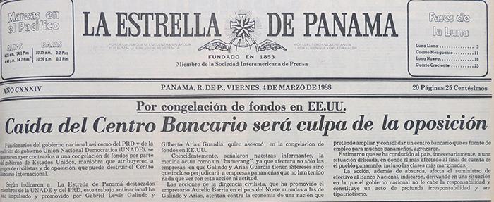 crisis marzo 1988