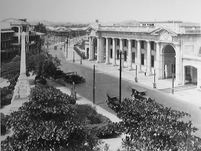 estacion ferrocarril mayo 1922