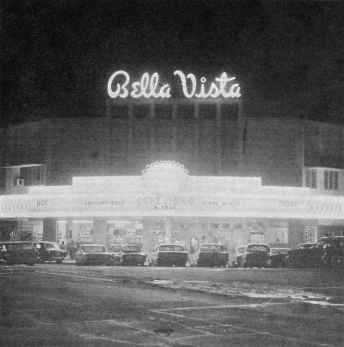 teatro bella vista 1965