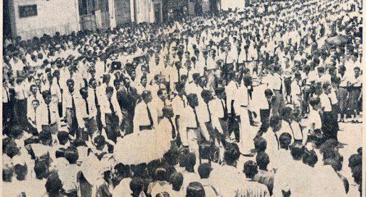 La gesta estudiantil de mayo de 1958