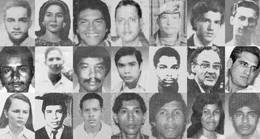 Los desaparecidos y asesinados por la dictadura militar panameña