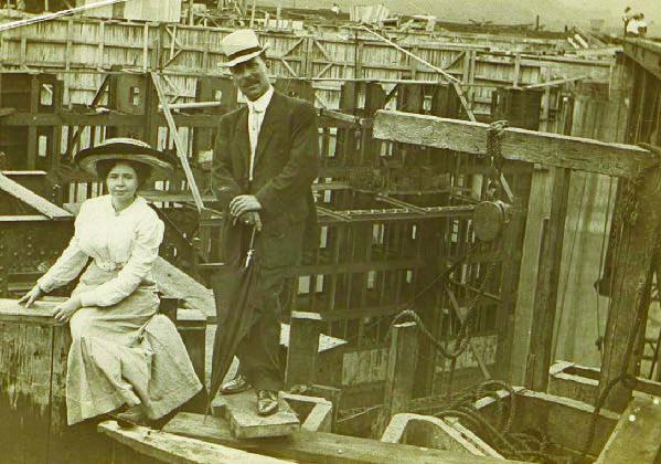 La labor de la mujer en los trabajos de construcción del Canal de Panamá