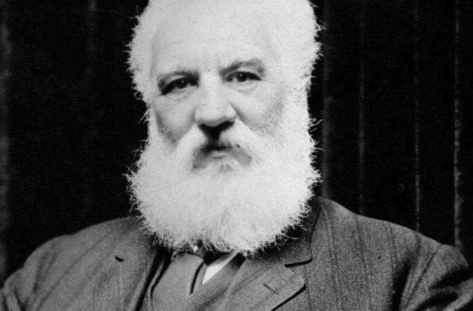 Alexander Graham Bell cuando estuvo por Panamá