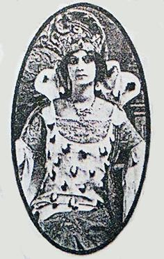 Reina carnaval 1914 Elena de la Ossa