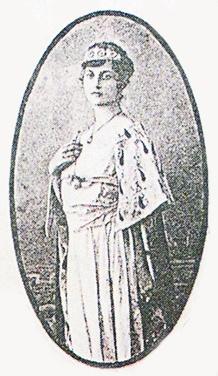 Reina carnaval 1911 Isabel Espinosa