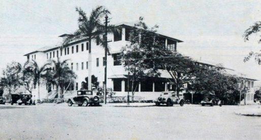 El antiguo Hospital Panamá