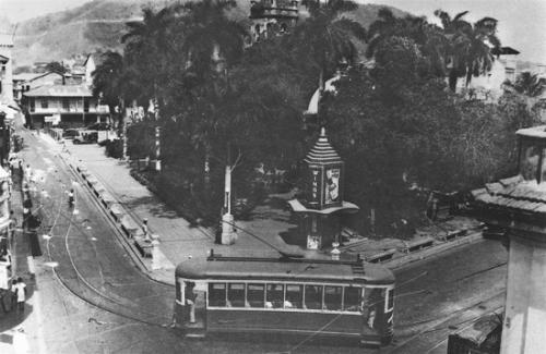 Plaza de Santa Ana decada de 1940