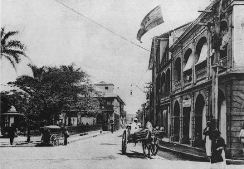 Plaza de Santa Ana inicios siglo XX