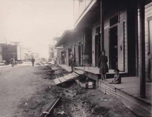 calle bolivar colon diciembre 1906