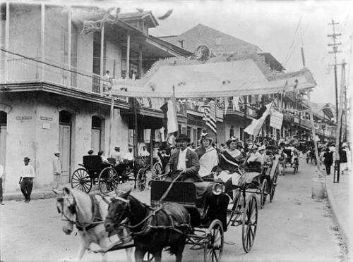 carnaval panama 1915