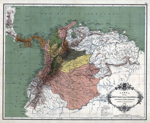 colombia 1886