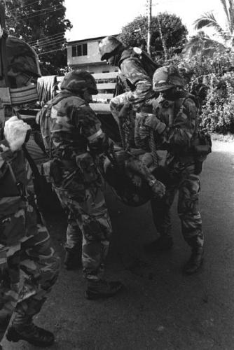 operacion causa justa 2 - sargento fuerzas defensa muerto