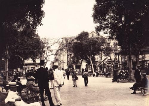 plaza catedral 1908