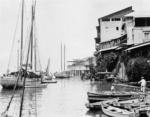terraplen ciudad panama decada 1910