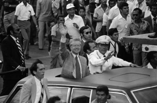 tratados torrijos carter - jimmy carter y torrijos en panama 1978