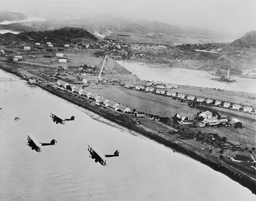 zona del canal - fuerte amador 1920s